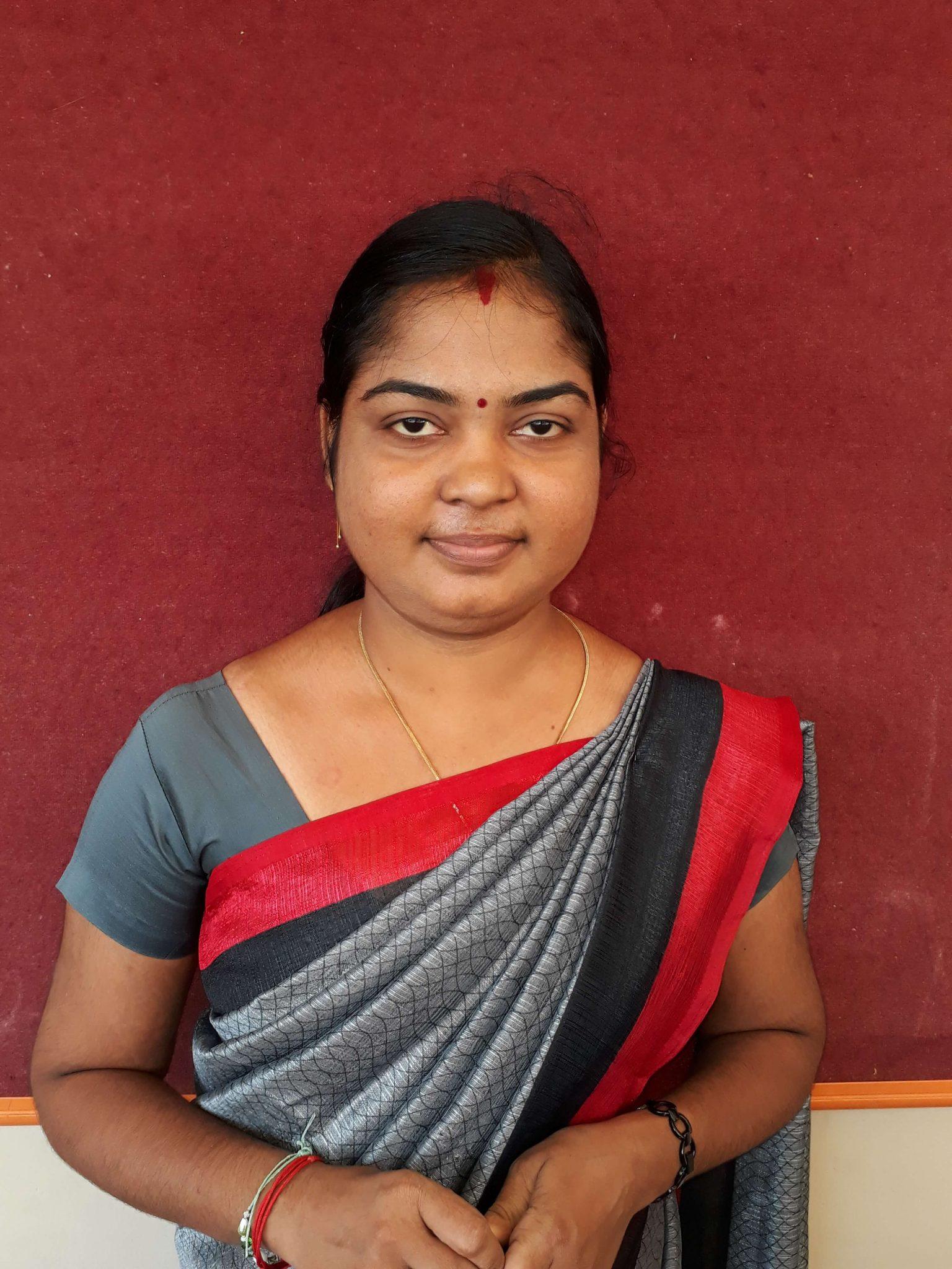 Mrs. B.Sivaranjani M.A English department