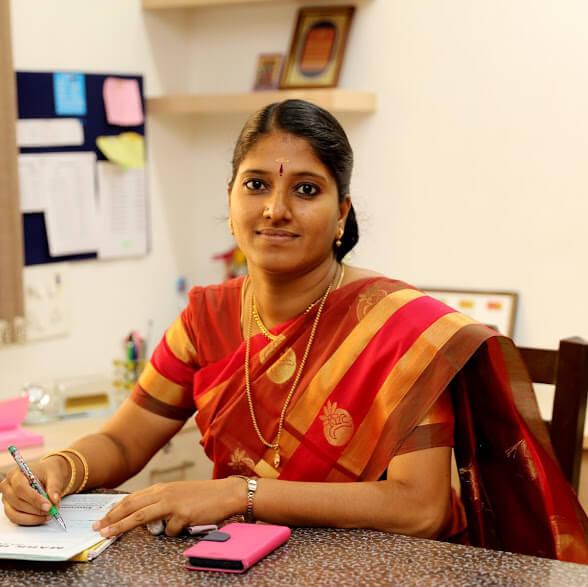 Mrs. M.Sridevi M.Sc. B.Ed. M.B.A Principal of PVBM