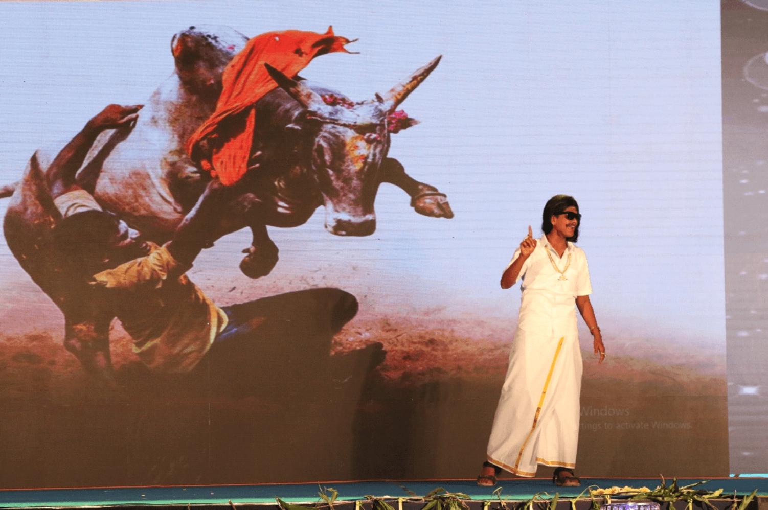 Jallikattu is the pride of Tamil Nadu.