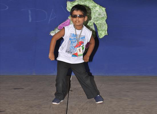 Stylish dancer.