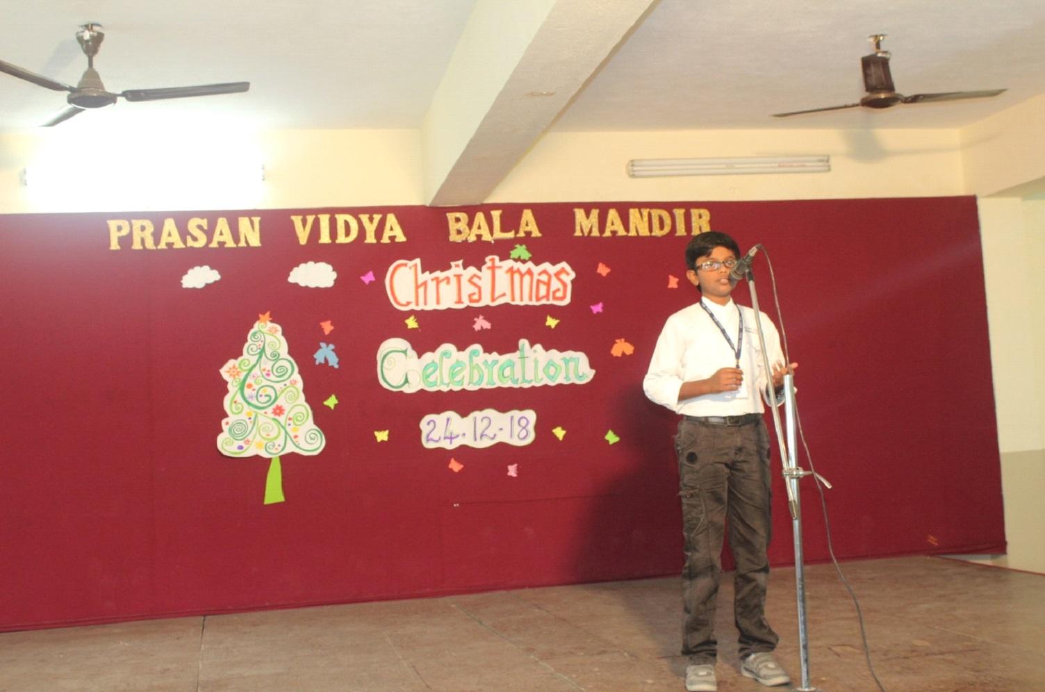 Inspiring speech on Christmas