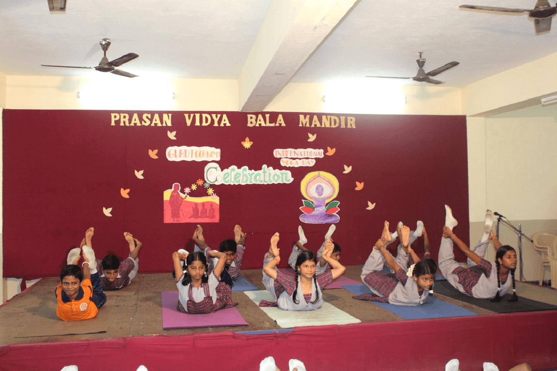 Yoga is happiness