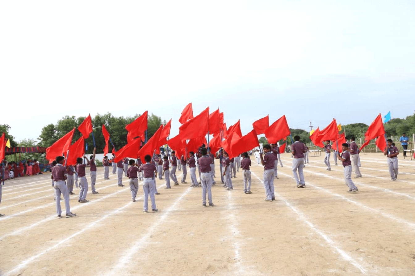 Where there is unity, there is always victory (Colour Guard Drill)