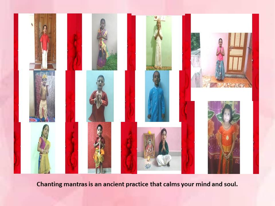 Chanting mantras is an ancient practice thatcalms your mind and soul.