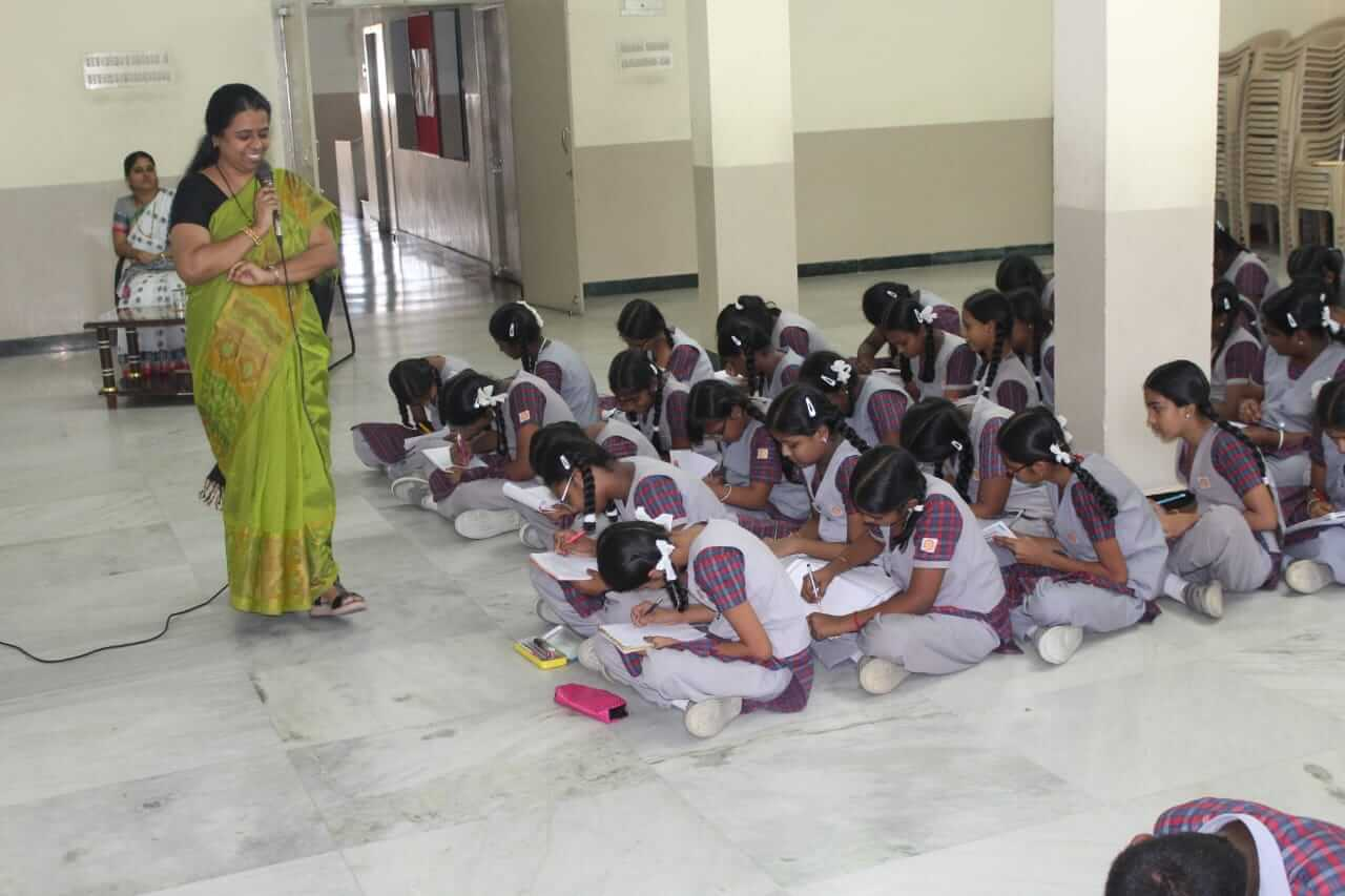 Child safety awareness programme which created awareness among our children about good and bad touch