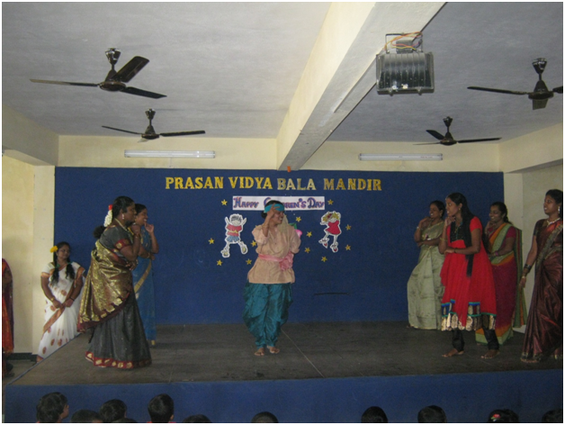 The children were thrilled with the idea of seeing their teachers dancing.