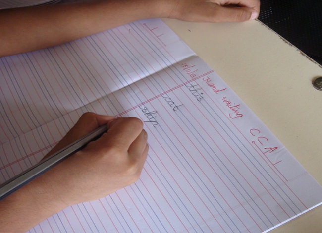 Cursive writing is an important part of learning to formulate and express ideas coherently.