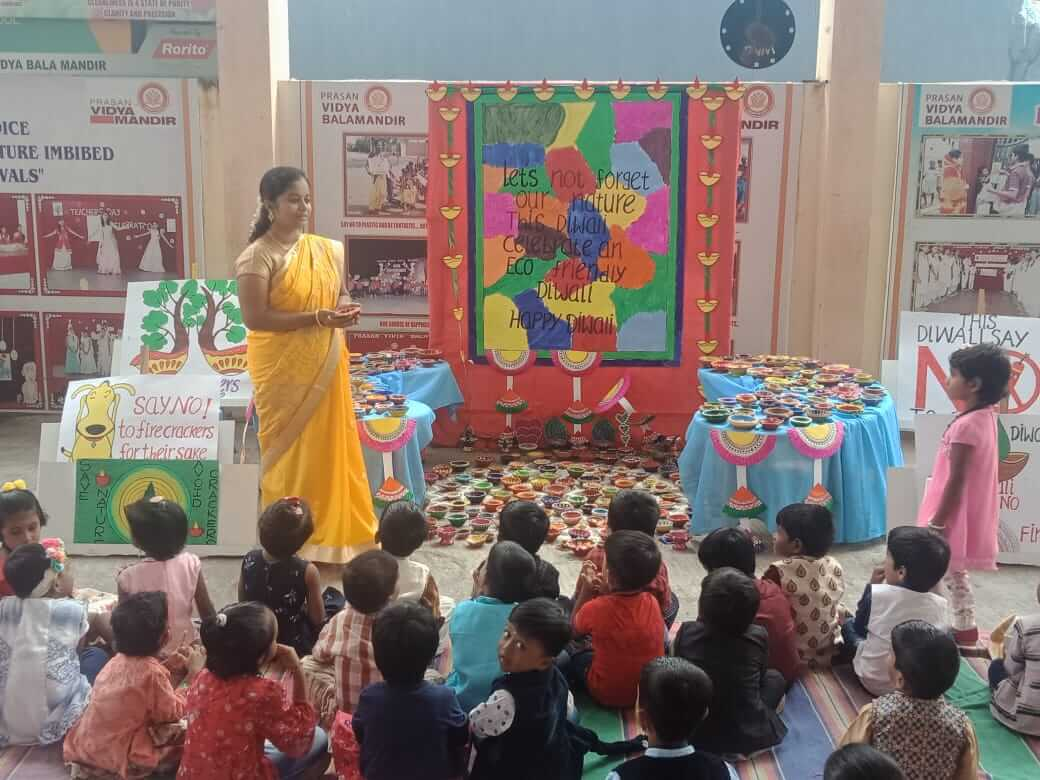 Green Diwali echo reverberates to our little ones...