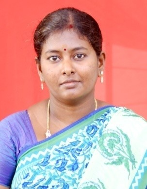 Mrs. S. Karpaga Selvi B.Sc., Advance. Montessori Trained., KG Teacher