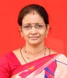 Vice Principal-Kindergarten Headmistress Mrs. S. Malini B.Sc., M.A., Mon. Trained., B.Ed.