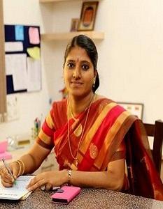 Principal Mrs. M. Sridevi M.Sc., B.Ed., M.B.A.