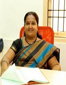 Senior Principal Mrs. A. Lakshmi Prabha M.A., M.Phil., B.Ed., D.S.M.