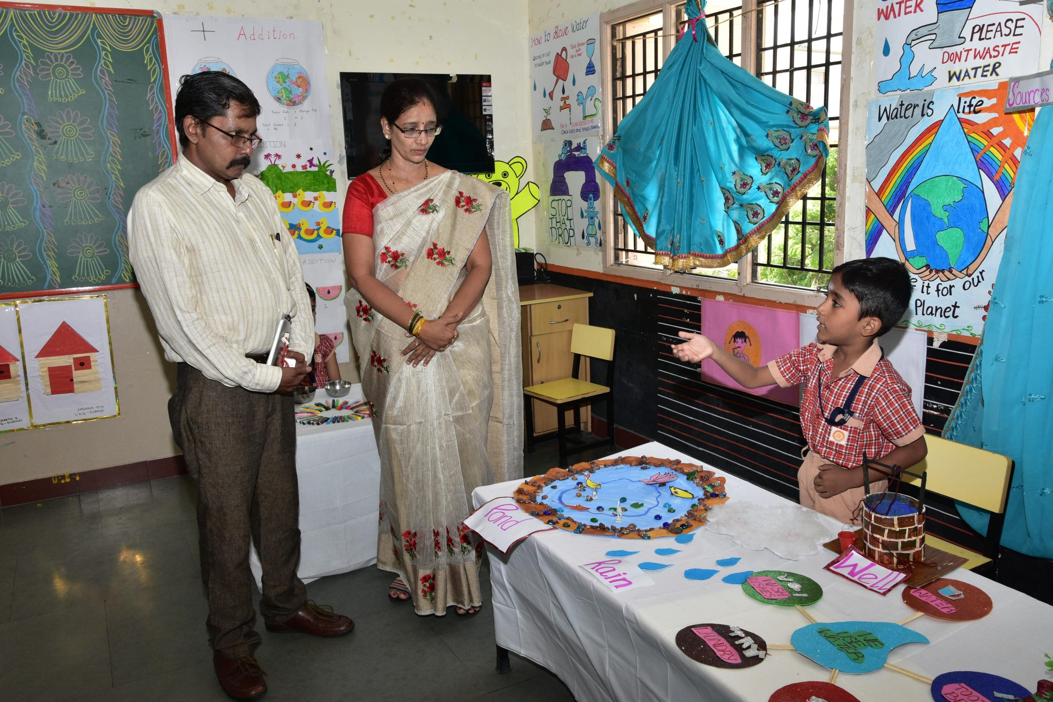 'Water is life'-elaborates on conservation of water...