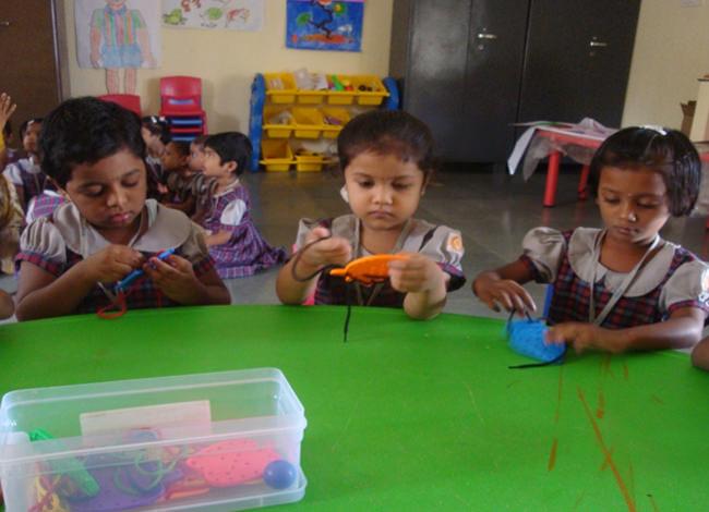 Weaving is a fabulous fine motor learning activity.