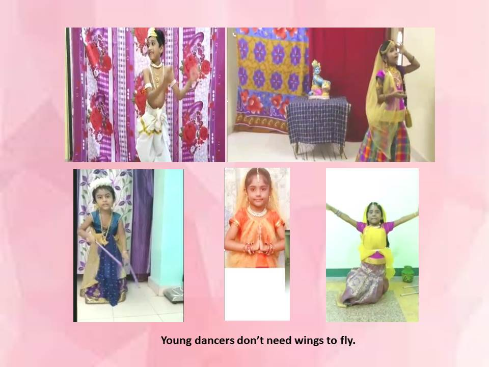 Young dancers don't need wings to fly
