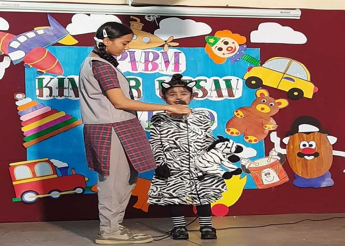Zebra in Kinder Utsav...