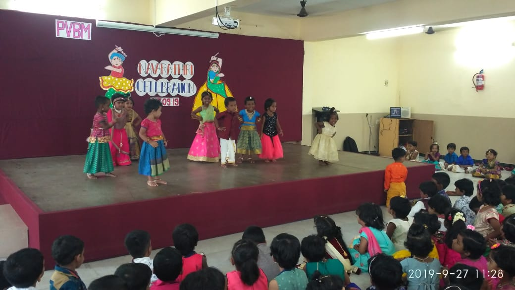 Time for celebration is on with Navarathiri…